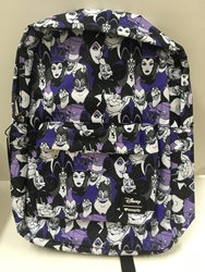Picture of Disney Villains All Over Print Nylon Backpack
