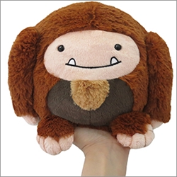 "Picture of Big Foot Mini Squishable7"" Plush"