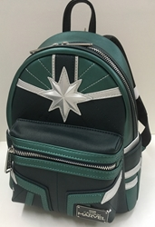 Picture of Loungefly x Marvel Captain Marvel Green Suit Mini Backpack