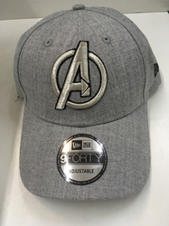 Picture of New Era Snapped Heather Avengers Gray 9Forty Cap