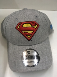 Picture of New Era Snapped Heather Superman Gray 9Forty Cap