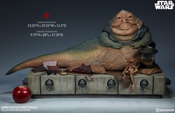 Picture of Star Wars Jabba the Hutt and Throne Deluxe Sixth Scale Statue