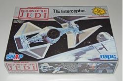 Picture of Star Wars Return of the Jedi TIE Interceptor Model Kit