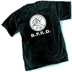 Picture of Hellboy BPRD Logo Men's Tee LARGE