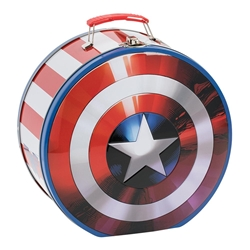Picture of Captain America Shield Shaped Lunch Tin