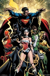Picture of Justice League Power Poster