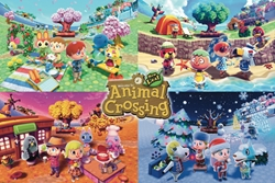 Picture of Animal Crossing Four Seasons Poster
