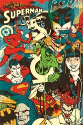 Picture of DC Comics Throwback Collage Poster