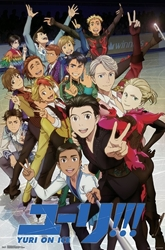 Picture of Yuri On Ice Key Art Poster