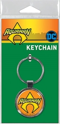 Picture of Aquaman Logo Keyring