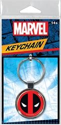 Picture of Deadpool Logo Keyring