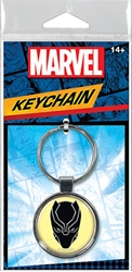 Picture of Black Panther Face Keyring
