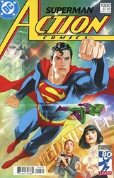 Picture of Action Comics #1000 '80s Cover