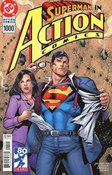 Picture of Action Comics #1000 '90s Cover