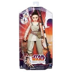 Picture of Star Wars Forces of Destiny Rey of Jakku Figure