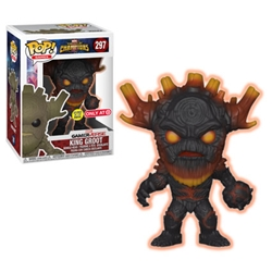 Picture of Pop Games Marvel Contest of Champions King Groot Scorched Vinyl Figure