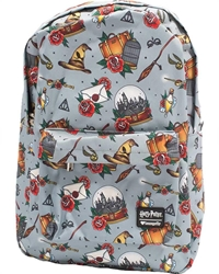 Picture of Harry Potter Relics Tattoo All-Over Print Backpack