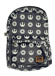 Picture of Star Wars Imperial Symbol and Rebel Starbird All-Over Print Backpack