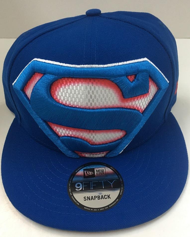 5e1005b1f7fcc Bedrock City Comic Company. New Era Superman Color Trim Snapback ...