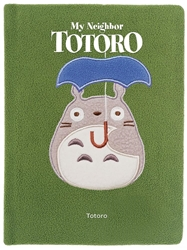 Picture of Totoro Fuzzy Ruled Journal