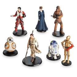Picture of Star Wars The Force Awakens Resistance PVC Figure Set