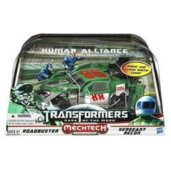 Picture of Transformers Dark of the Moon Human Alliance Roadbuster and Sergeant Recon
