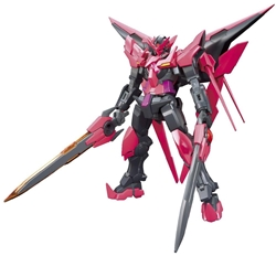 Picture of Gundam Build Fighters Gundam Exia Dark Matter HGBF Model Kit