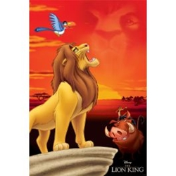"""Picture of Disney Lion King Pride Rock 24"""" x 36"""" Poster"""