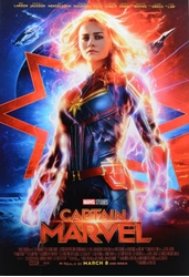 Picture of Captain Marvel Movie Poster
