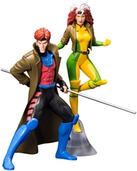 Picture of X-Men Gambit and Rogue '92 ArtFX+ Statue Two-Pack