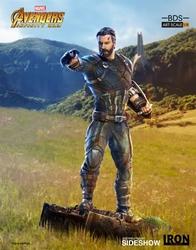 Picture of Captain America Avengers Infinity War Iron Studios Wakanda Battle Diorama Statue