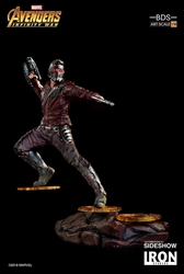 Picture of Star-Lord Avengers Infinity War Iron Studios Titan Battle Diorama Statue