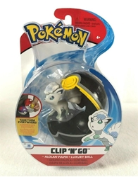 Picture of Pokemon Alolan Vulpix and Luxury Ball Clip 'n' Go Figure