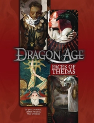Picture of Dragon Age RPG Faces of Thedas Sourcebook