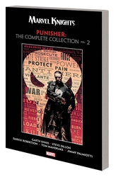 Picture of Marvel Knights Punisher by Ennis Complete Collection SC