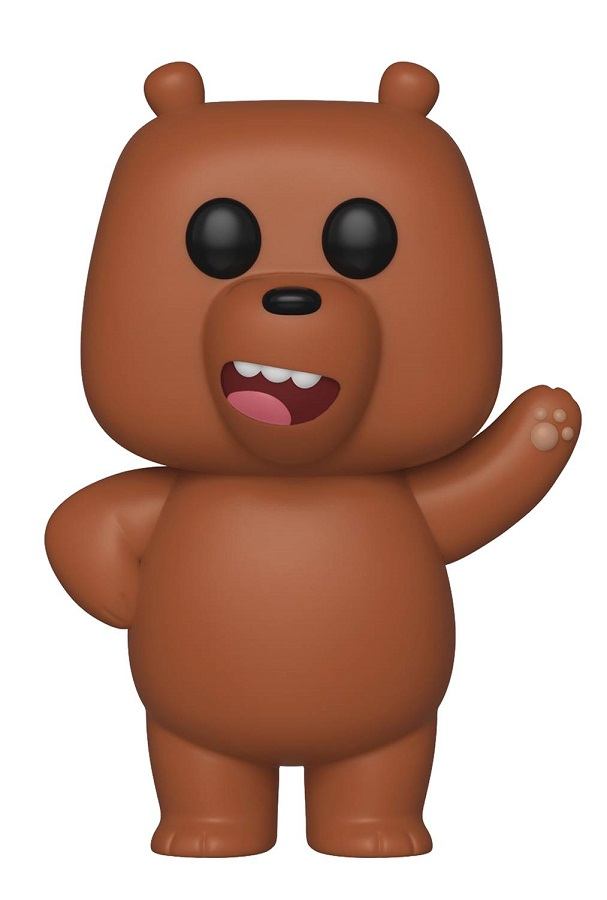 Pop Animation We Bare Bears Grizzly Vinyl Figure