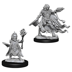 Picture of Dungeons and Dragons Nolzur's Marvellous Unpainted Evil Wizards Miniatures