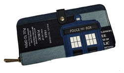 Picture of Doctor Who TARDIS Denim Wallet