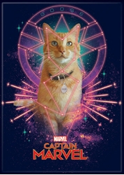 Picture of Captain Marvel Goose Magnet