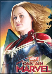 Picture of Captain Marvel Profile Magnet