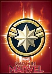 Picture of Captain Marvel Logo Magnet