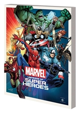 Picture of Marvel Universe Super Heroes SC Museum Exhibit Guide