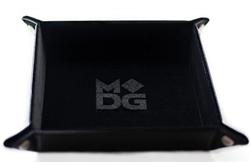 Picture of Black Velvet Dice Folding Tray