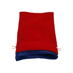 Picture of Red Velvet Blue Lining Large Dice Bag