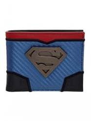 Picture of Superman Metal Badge Bifold Wallet