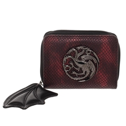 Picture of Game of Thrones Targaryen Dragon Wing Zip Wallet