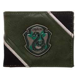 Picture of Harry Potter Slytherin Crest Bifold Wallet