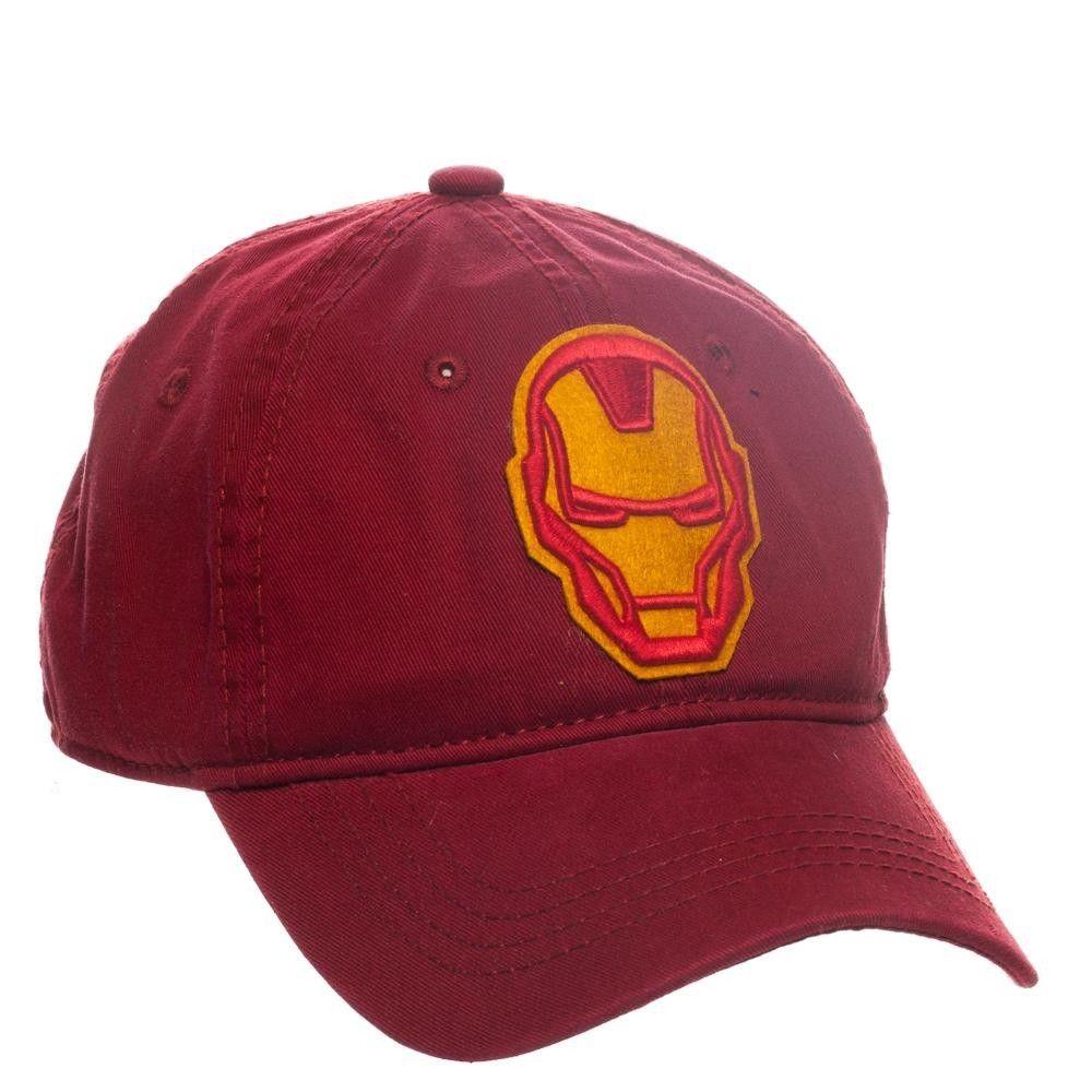 d7b25176be7b2 Bedrock City Comic Company. Iron Man Dad Hat Adjustable Cap