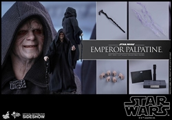 Picture of Star Wars Emperor Palpatine Sixth Scale Hot Toys Figure