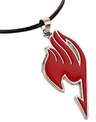 Picture of Fairy Tail Guild Mark Red Necklace